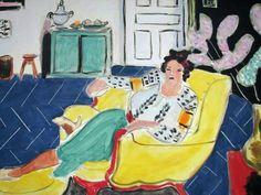 Henri Matisse / Woman Seated in an Armchair Wallpaper