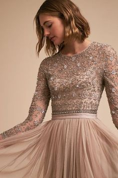 Nude Miramar Dress | BHLDN