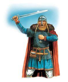 A noble Viking warrior.