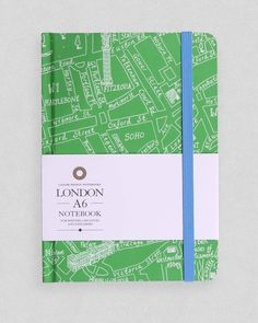 London notebook by Michael A. Hill | Lagom Design