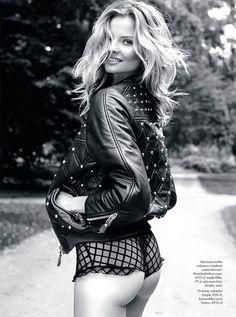Magdalena Frackowiak Stars in Elle Polands September Issue