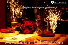 Birbirinden şık güzel mekanlar www.romantikadresler.com 'da sizleri bekliyor.