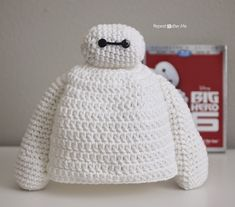 Repeat Crafter Me: Baymax Crochet Hat