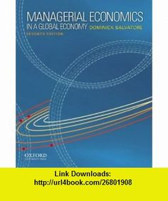Books pdf economics managerial