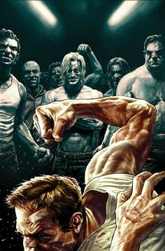 Dark Horse Editor-In-Chief Scott Allie talks about bringing FIGHT CLUB 2 to comics and working with Chuck Palahniuk and Cameron Stewart to make it happen. Darkhorse Comics, Chuck Palahniuk, Boxe Fight, Brian Michael, Fight Club 1999, Lee Bermejo, Art Of Fighting, Best Comic Books, Bd Comics