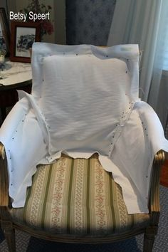 Betsy Speert's Blog: Cottage Sitting Room slipcover tutorial