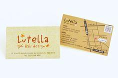 lutella、ショップカード。 | ショップツールデザインSTAFF BLOG