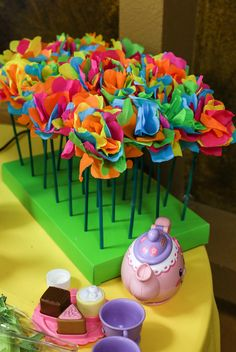 """Photo 1 of 87: Alice in Wonderland, Mad Tea Party / Birthday """"Emma's Onederland"""" 
