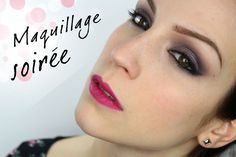 M Maquillage de soirée : Purple Glam