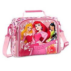 Disney Princess Lunch Tote | Disney StoreDisney Princess Lunch Tote - Keep your little adventurer smiling from playtime through mealtime with our insulated Disney Princess Lunch Tote featuring Ariel, Aurora, and Mulan. The fun never ends when you fuel up with a friend.