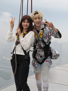 that's actually such a cute photo. Key Arisa