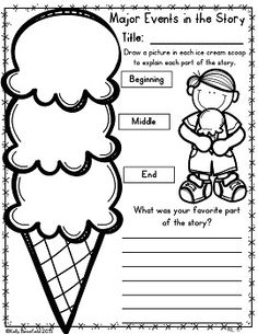 Free Reading Literature Graphic Organizers for Grades 1