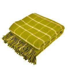 Joanna Wood Green Check Throw #throw #cosybythefire #autumnal #keepwarm