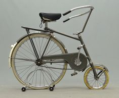 C. 1950 Dedemstaart Union Netherland folding bicycle.