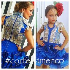#trajedeflamenca #trajedeluces #flamenca #vestidodegitana #modaandaluza más información en www.corteflamenco.com