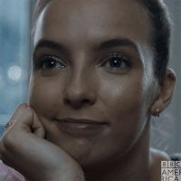New trending GIF on Giphy - Jodie Comer - Killing Eve - Serie Smile Gif, Joan Baez, Jodie Comer, Bbc America, Portraits, Just Girl Things, Psychopath, Celebs, Celebrities