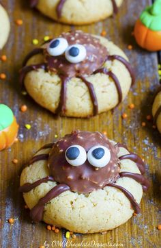 Attack of Spider Cookies - OMG Chocolate Desserts