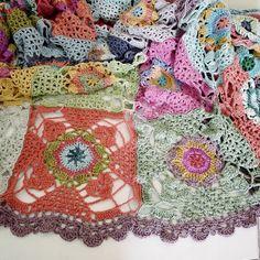 rawrustic crochet blanket
