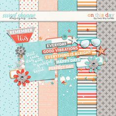 Free On This Day Mini Kit from Two TIny Turtles {on Facebook - August 2016 DigiScrap Parade}