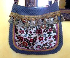 Pretty summer floral boho bag by Justbepurses on Etsy