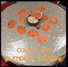 Count the pumpkin seeds