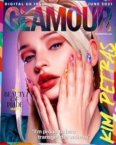 GLAMOUR June Digital Pride Issue Coverstar Kim Petras Interview | Glamour UK Uk Digital, Glamour Uk, Transgender People, Aesthetic Makeup, Celebs, Celebrities, Her Music, Petra, Senior Portraits