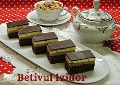 prajitura Betivul Izidor, crema , glazura, nuci, umplutura, ciocolata, gem de caise, prajitura cu crema