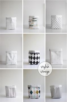 storage sacks - this would work in lieu of the luggage/bookcase idea. could make coordinating fabric sacks, or covered cardboard boxes and attach handles. maybe tassels for handles)
