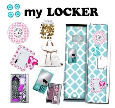 """""""My dream locker(s)"""" by awesome-sparkle-girl ❤ liked on Polyvore featuring art"""