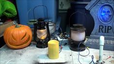 DIY Halloween LED Light System