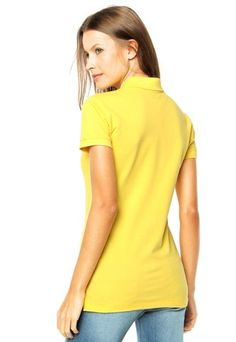 Camisa Polo Ellus 2ND Floor Amarela