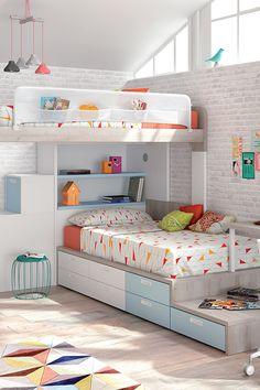 #decoracionhabitacionjuveniles