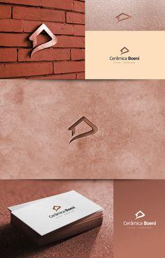 Criação de logo para Cerâmica Boeni Feliz – RS