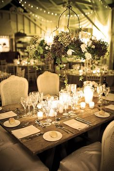LOVE IT - especially the hanging centerpiece!