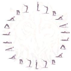 sun salutation #yoga