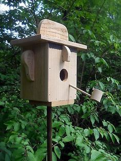 Bird House Kits Make Great Bird Houses Diy Wood Projects, Wood Crafts, Woodworking Projects, Woodworking Videos, Bird House Plans, Bird House Kits, Bird House Feeder, Bird Feeders, Birdhouse Designs