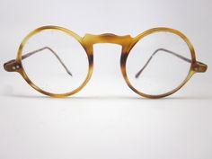 13c7884ca03 Round Tortoiseshell eyeglasses frames - Tortoiseshell - Vintage eyeglasses