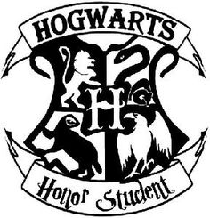 Hogwarts Honor Student Harry Potter from raddezigns.com