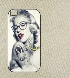 Marilyn Monroe Swag Iphone 4 case, iphone 4s