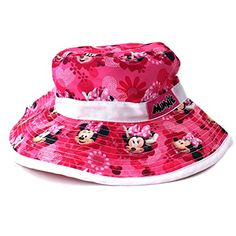 Amazon.com  Minnie Mouse Toddler Girls Pink Bucket Hat  Clothing d98dbf6de5f