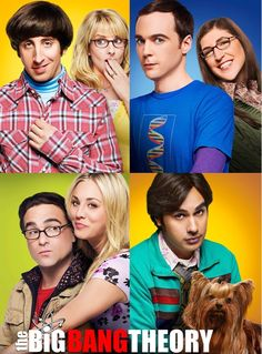Couples of the Big Bang theory