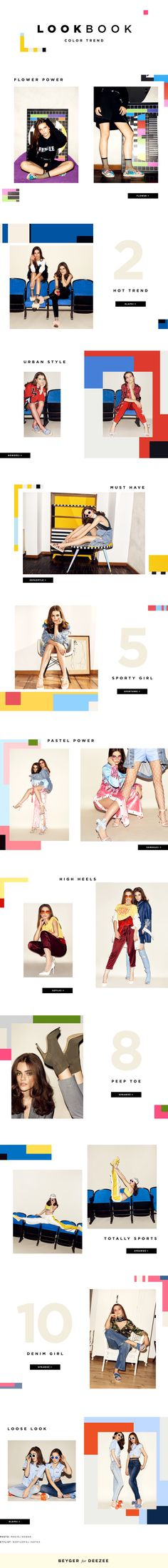LOOKBOOK DeeZee on Behance