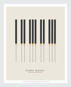 Piano classical music by Federico Babina Arte Do Piano, Piano Art, Piano Music, Piano Recital, Jazz Poster, Music Illustration, Music Logo, Graphic Design Typography, Classical Music