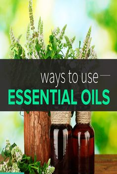 use essential oils in your beauty regimen