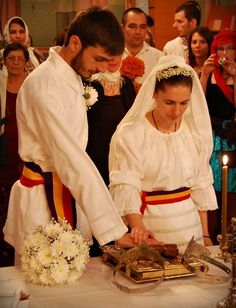 Orthodoxy in pictures Romanian Wedding, Russian Wedding, Romanian People, Traditional Wedding Dresses, Traditional Weddings, Orthodox Wedding, Still In Love, Wedding Album, Christian Faith