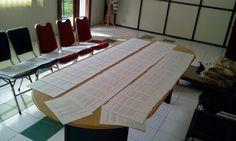 Lab Desain BBKB mempersiapkan materi untuk kegiatan diseminasi di kota Palu tanggal 15 Juni 2015