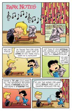 KaBOOM Peanuts Series 2, #7 - Bank Notes 1