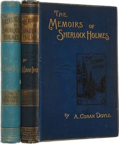 Books:First Editions, Arthur Conan Doyle. First Editions of the First Two Sherlock HolmesBooks, including: The Adventures of Sherlock Holmes....