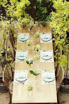 countryside table decoration