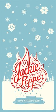 Typeverything.com - Jackie Pepper byBen Barry. holiday inspiration card